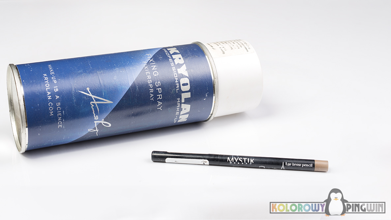 Kryolan Fixing Spray, Mistik Eye brow pencil