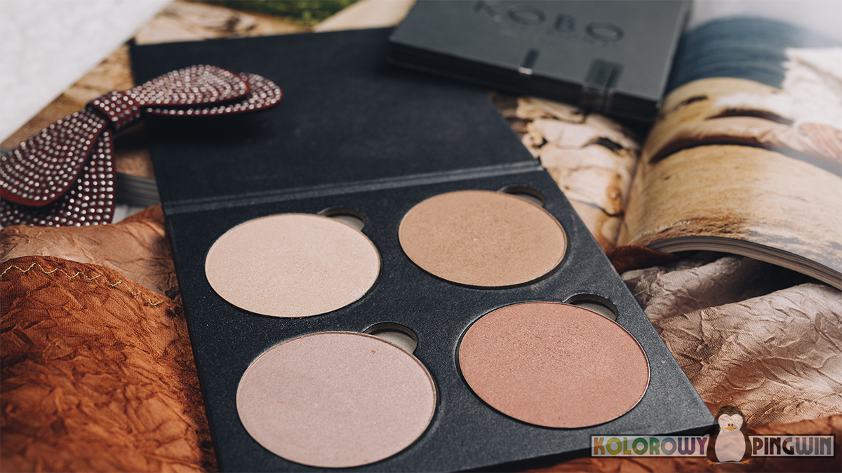 Kobo Face Palette 02 Desert Rose Highlighter