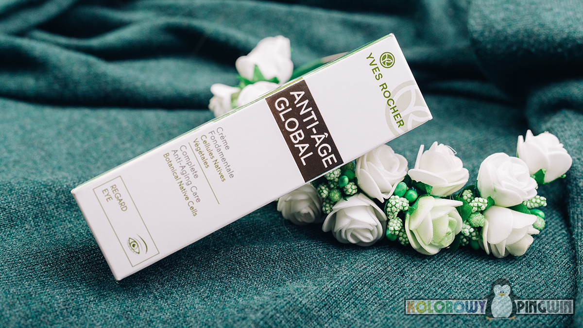 Krem pod oczy Yves Rocher Anti-Age Global