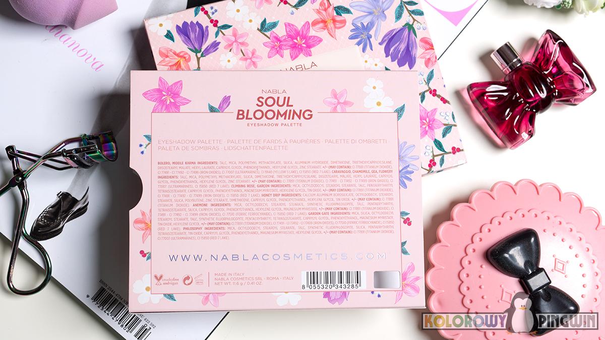 Nabla Soul Blooming skład